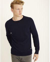 090ddb3ad0d0 Lyst - Levi's Original Crew Neck Sweatshirt Navy in Blue for Men