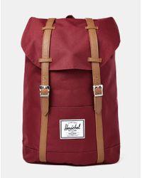 Herschel Supply Co. - Purple Retreat Backpack Burgundy for Men - Lyst