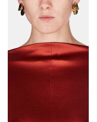 Charlotte Chesnais - Metallic Drop Earrings - Lyst