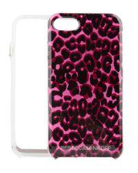 Rebecca Minkoff - Brown Leopard Print Case Iphone 7 - Lyst