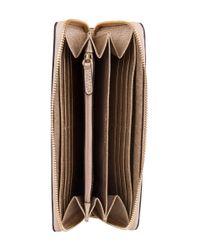 Michael Kors - Metallic Pocket Continental - Lyst