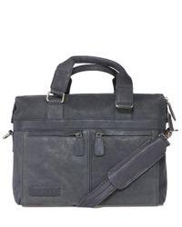 Plevier - Black Document Bag 12-14 Inch Laptop for Men - Lyst