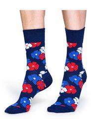 Happy Socks - Blue Socks Kimono - Lyst