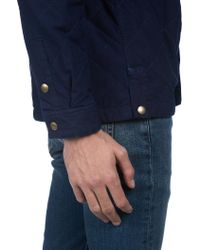 A.P.C. | Blue Cole Overshirt for Men | Lyst