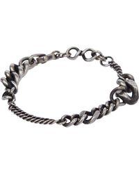 Werkstatt:münchen - Metallic Bracelet Mixed Fine - Lyst
