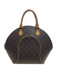 653eeca0782e Lyst - Louis Vuitton Monogram Canvas Ellipse Mm Bag in Brown
