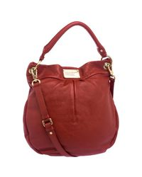 Marc By Marc Jacobs - Red Leather Classic Q Hillier Hobo - Lyst