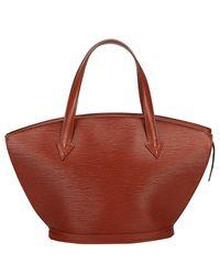 Louis Vuitton Red Epi Saint Jacques Short Strap Pm Everyday Bag