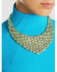 Rosantica - Metallic Destino Gold-tone Quartz Necklace - Lyst