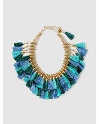 Rosantica | Blue Nuova Orchidea Gold-tone Tassel Necklace | Lyst