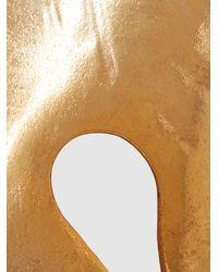 Oscar de la Renta - Metallic Foliage Gold-tone Bracelet - Lyst