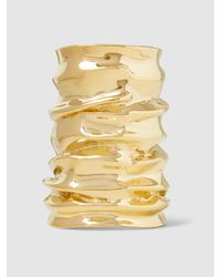 Annelise Michelson - Metallic Large Drape Cuff - Lyst