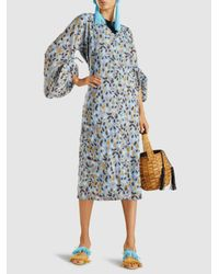 All Things Mochi - Blue Talia Kaftan Dress - Lyst