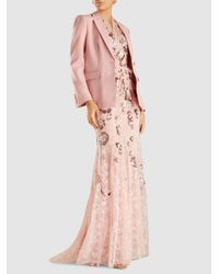 Jenny Packham - Pink Ela Sequinned Lace Gown - Lyst