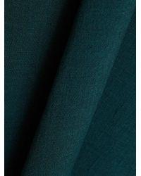 Cefinn - Green Belted Funnel-neck Midi Dress - Lyst