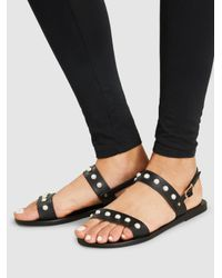 Ancient Greek Sandals - Black Clio Leather Sandals - Lyst