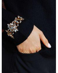 Erickson Beamon - Multicolor Floral Crystal Bracelet - Lyst