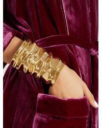Annelise Michelson | Metallic Large Drape Cuff | Lyst