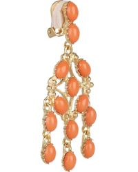 Kenneth Jay Lane - Multicolor Gold-tone Stone Earrings - Lyst