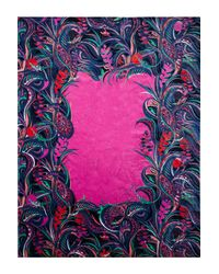 Emilio Pucci - Pink Woman Printed Cotton-terry Towel Multicolor - Lyst