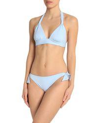 Iris & Ink - Blue Triangle Bikini - Lyst