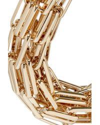 Kenneth Jay Lane - Metallic Gold-tone Necklace - Lyst