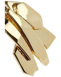 Noir Jewelry - Metallic Woman Metamorphisis 14-karat Gold-plated Cuff Gold - Lyst