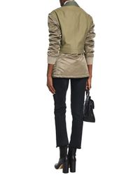 Rag & Bone - Modular Convertible Cotton-canvas And Shell Jacket Army Green - Lyst