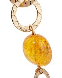 Rosantica - Metallic Panico Gold-tone Stone Necklace - Lyst