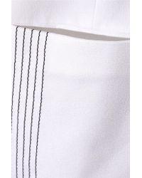 Edun - White Embroidered Satin-crepe Jacket - Lyst