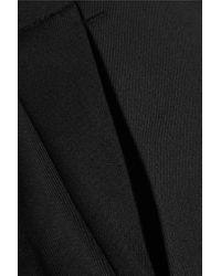 McQ Black Tuxedo Wool-twill Culottes