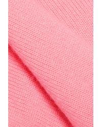 Valentino - Pink Cashmere Sweater - Lyst