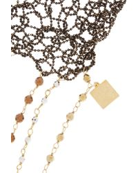 Rosantica - Metallic Giovanna Oxidized Gold-tone Beaded Body Chain - Lyst