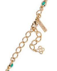 Oscar de la Renta - Metallic Sea Tangle Gold-plated Resin Necklace - Lyst