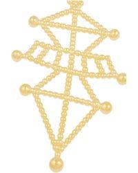Arme De L'Amour   Metallic Symbiotic Sphere Gold-plated Necklace   Lyst