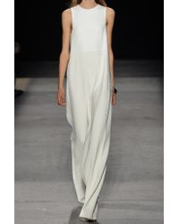 Narciso Rodriguez - Multicolor Paneled Crepe Jumpsuit - Lyst