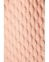 J.W.Anderson - Pink Jacquard Skirt - Lyst