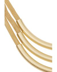 Kenneth Jay Lane | Metallic Gold-plated Necklace | Lyst