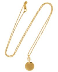 Maria Black - Metallic Camille Gold-plated Necklace - Lyst