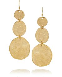 Kenneth Jay Lane | Metallic Gold-plated Earrings | Lyst