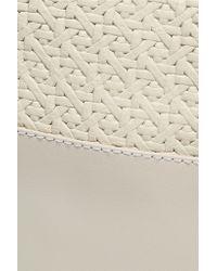 Clare V. - White Matilde Paneled Leather Backpack - Lyst