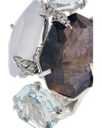 Alexis Bittar - Metallic Sterling Silver Multi-stone Ring - Lyst