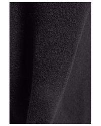 IRO - Black Belted Wool-blend Coat - Lyst
