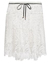Maje - - Joelle Cotton-guipure Lace Shorts - Off-white - Lyst