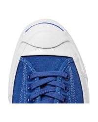 Converse - Blue Jack Purcell Signature Canvas Sneakers - Lyst