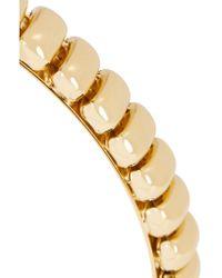 Rosantica - Metallic Atena Gold-tone Headband - Lyst