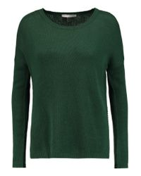 Autumn Cashmere - Green Open-knit Cashmere Sweater - Lyst