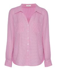 Joie | Multicolor Cartel Checked Cotton-poplin Shirt | Lyst