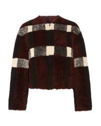 Rebecca Minkoff | Blue Jack Reversible Shearling Coat | Lyst