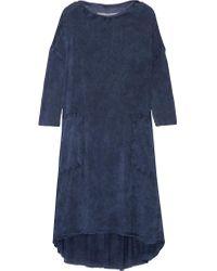 Raquel Allegra | Blue Tie-dyed Jersey Dress | Lyst
